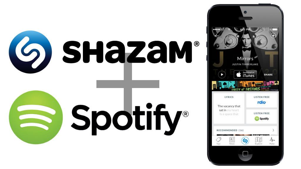 Shazam-Spotify