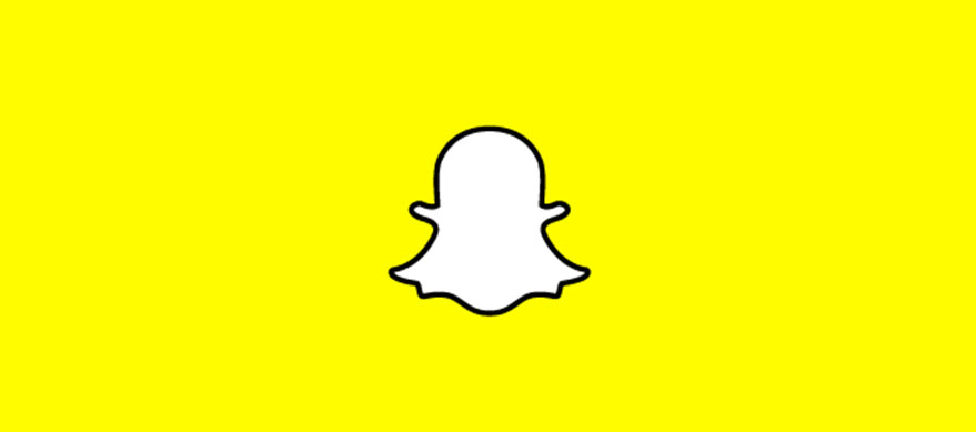 Snapchat logo - Snapchat ajoute le zoom vidéo & améliore Discover
