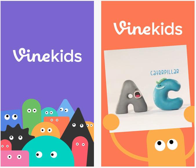VineKids - Vine Kids : une adaptation de Vine pour les enfants