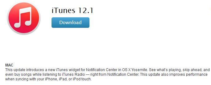 iTunes-12.1