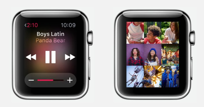 Apple Watch musique photos - Apple Watch : 8 Go de stockage, mais seulement 2 Go de musique & 75 Mo de photos