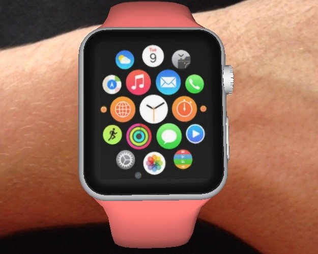Apple-Watch-rose-realite-augmentee