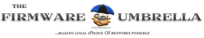 The firmware umbrella - TinyUmbrella : sauvegarder les SHSH iOS 8.1.2 des iPhone & iPad