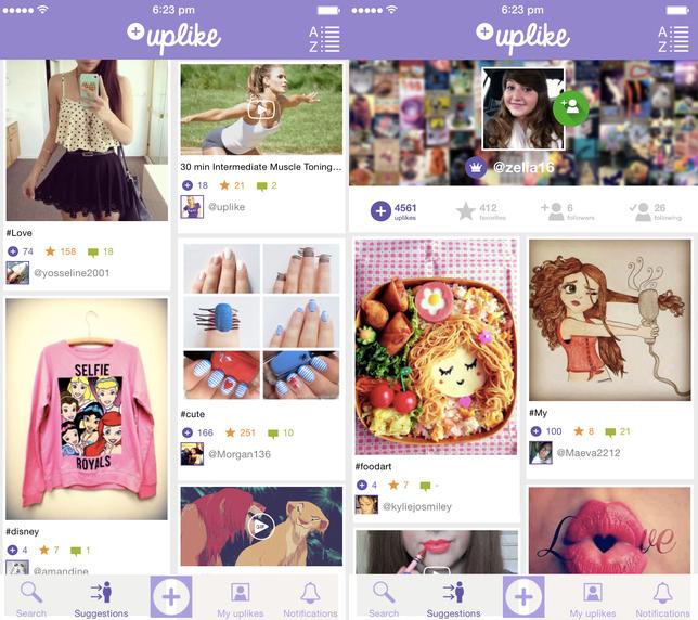Uplike iPhone - Uplike : recherche géo-localisée et autres nouveautés sur iPhone & iPad