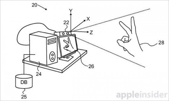 Brevet geste main 1 - Apple : un brevet pour reconnaître les gestes de la main