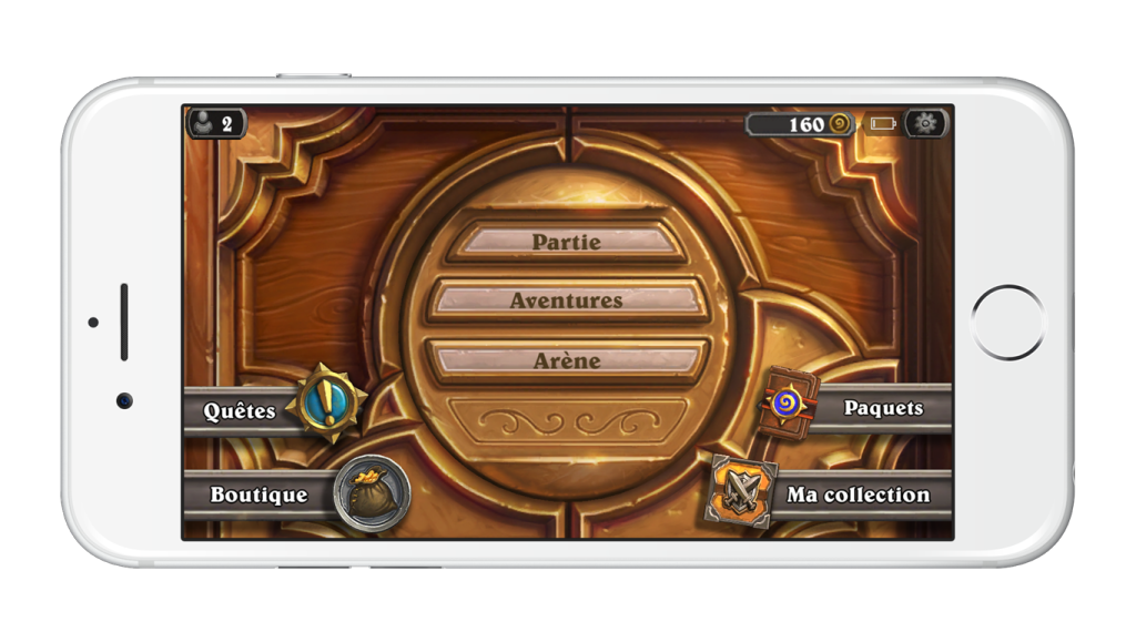 Hearthstone-iPhone-menu