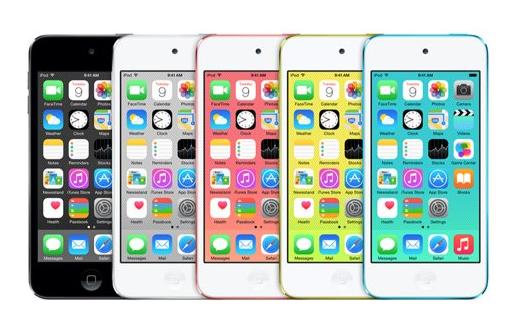 iPod Touch 5G - Apple : sortie d'un iPod Touch 6G cette année ?