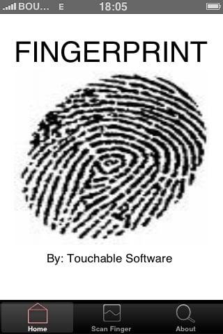 Fingerprint : le lecteur d'empreinte digitale