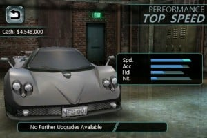 Codes de triche pour Need For Speed Undercover iPhone disponibles