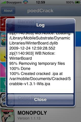 IMG 0324 - [TUTO] PoedCrack : il n'a jamais été aussi simple de craquer une ipa!