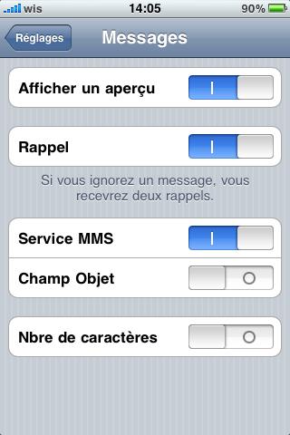 photo 1 - ASTUCE : les sms enfin discrets !