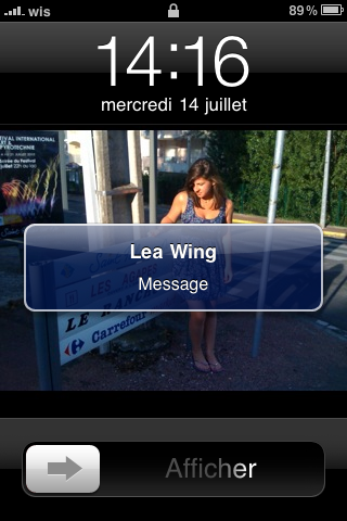 photo 2 - ASTUCE : les sms enfin discrets !