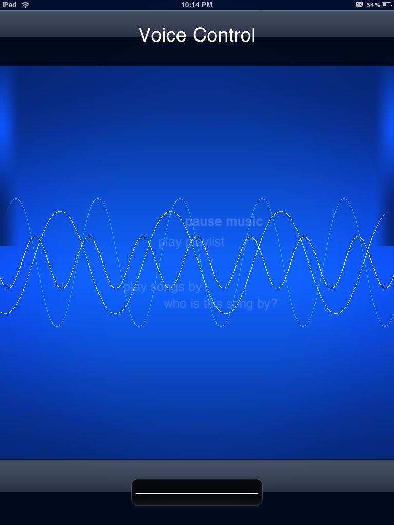 2 - Tutoriel : le contrôle vocal sur iPad