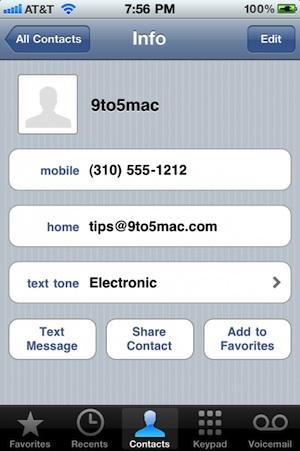 57443 826 ios 4 2 affecter des sonneries aux contacts - IOS 4.2 les nouveautés de cette première beta.