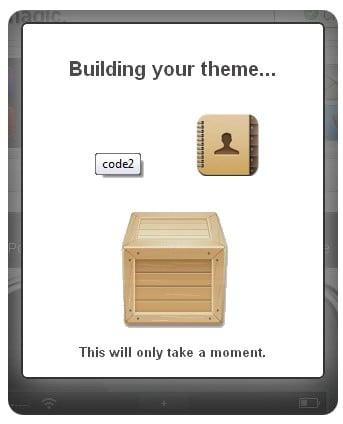 bulding - Astuce :  créer son thème iPhone Cydia depuis le web