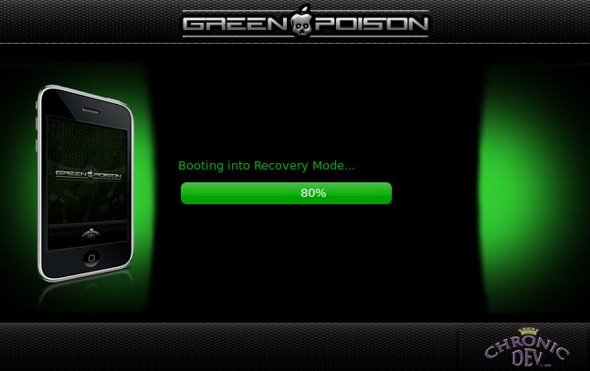 greenpoison - Quelques informations sur l'avancée du jailbreak de l'IOS 4.1
