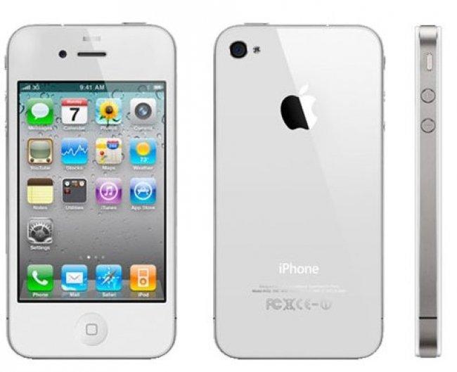iphone 4 blanc - L'iPhone 4 blanc pour la fin de l'année ?