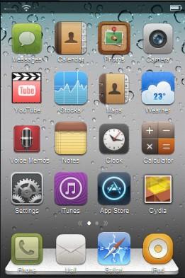 Astuce :  créer son thème iPhone Cydia depuis le web