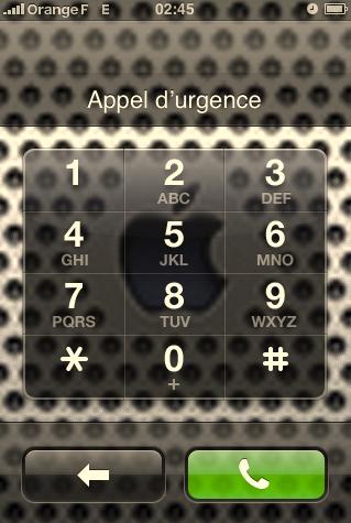 appelurgence - Faille de sécurité découverte lors du verrouillage de l'Iphone !