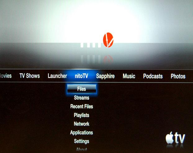 nito1 - [Tuto] Installer nitoTV sur votre appleTV 2G.
