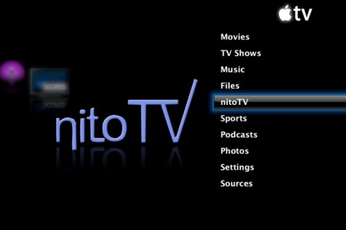 nito11 - [Tuto] Installer nitoTV sur votre appleTV 2G.