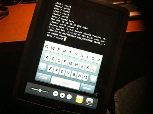 ssh ipad - Jailbreak iPad 4.2 beta 3