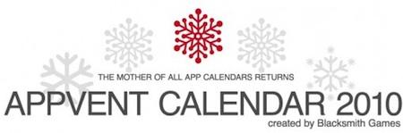 Appvent calendar 2010 - AppVent Calendar version 2010 arrive bientôt !