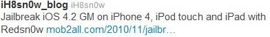 Capture d%E2%80%99%C3%A9cran 2010 11 02 %C3%A0 13.20.19 - L'IOS 4.2 GM serait jailbreakable avec RedsnOw...