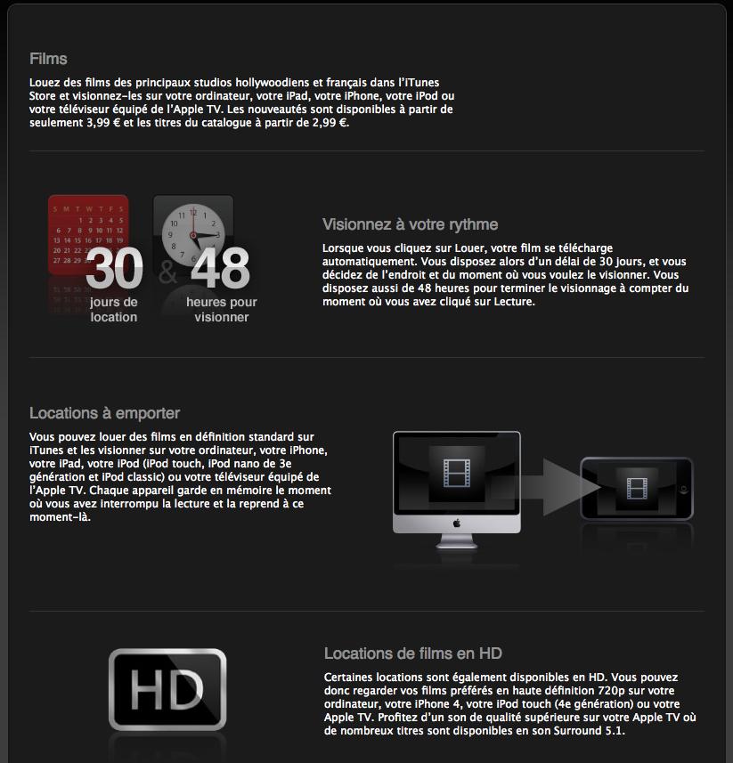 Capture d%E2%80%99%C3%A9cran 2010 11 06 %C3%A0 19.05.18 - L'iTunes Movie Store désormais disponible en France