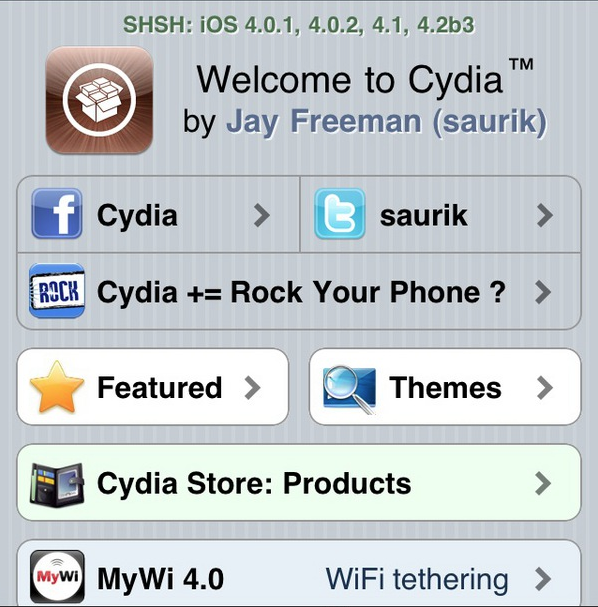 Cydia bientôt prêt pour accueillir IOS 4.2 ?