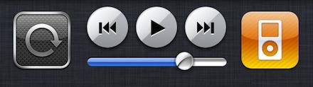 Capture d'écran 2010 11 18 à 18.30.54 - Régler la luminosité de votre iDevice en multitâche avec App Switcher Volume Brightness !