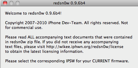 Capture d'écran 2010 11 23 à 13.04.15 - Jailbreak iOS 4.2 disponible avec Redsn0w 0.9.6b4