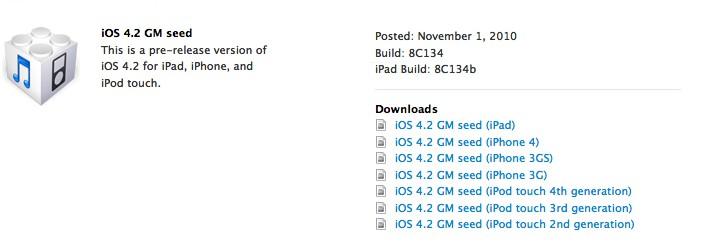 IOS4.2 - IOS 4.2 est disponible ce soir en téléchargement !!