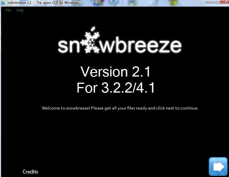 Sn0wbreeze 2.1 - Sn0wbreeze 2.1 disponible !!