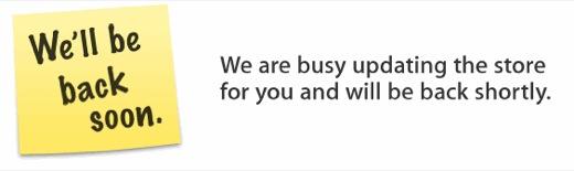 apstferme - L'Apple Store est fermé...