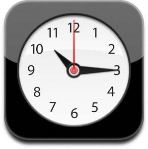 icone horloge iphone - Le problème de l'alarme est corrigé !