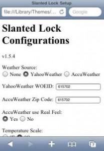 Cydia : Thème SlantedLock, un Lockscreen d'exception.