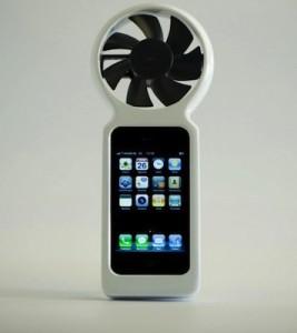 ifan 267x300 - Une éolienne pour iPhone ?!