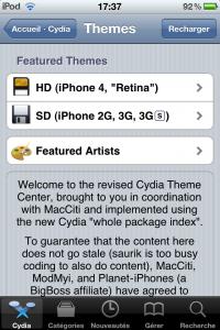 """IMG 1192 200x300 - Cydia : ajout de l'option """"Manage Account"""" et du Theme Center"""