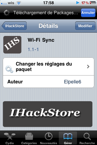 photo 3 2 - [TUTO] Synchronisez votre iPhone en Wifi ! Crack Wifi Sync