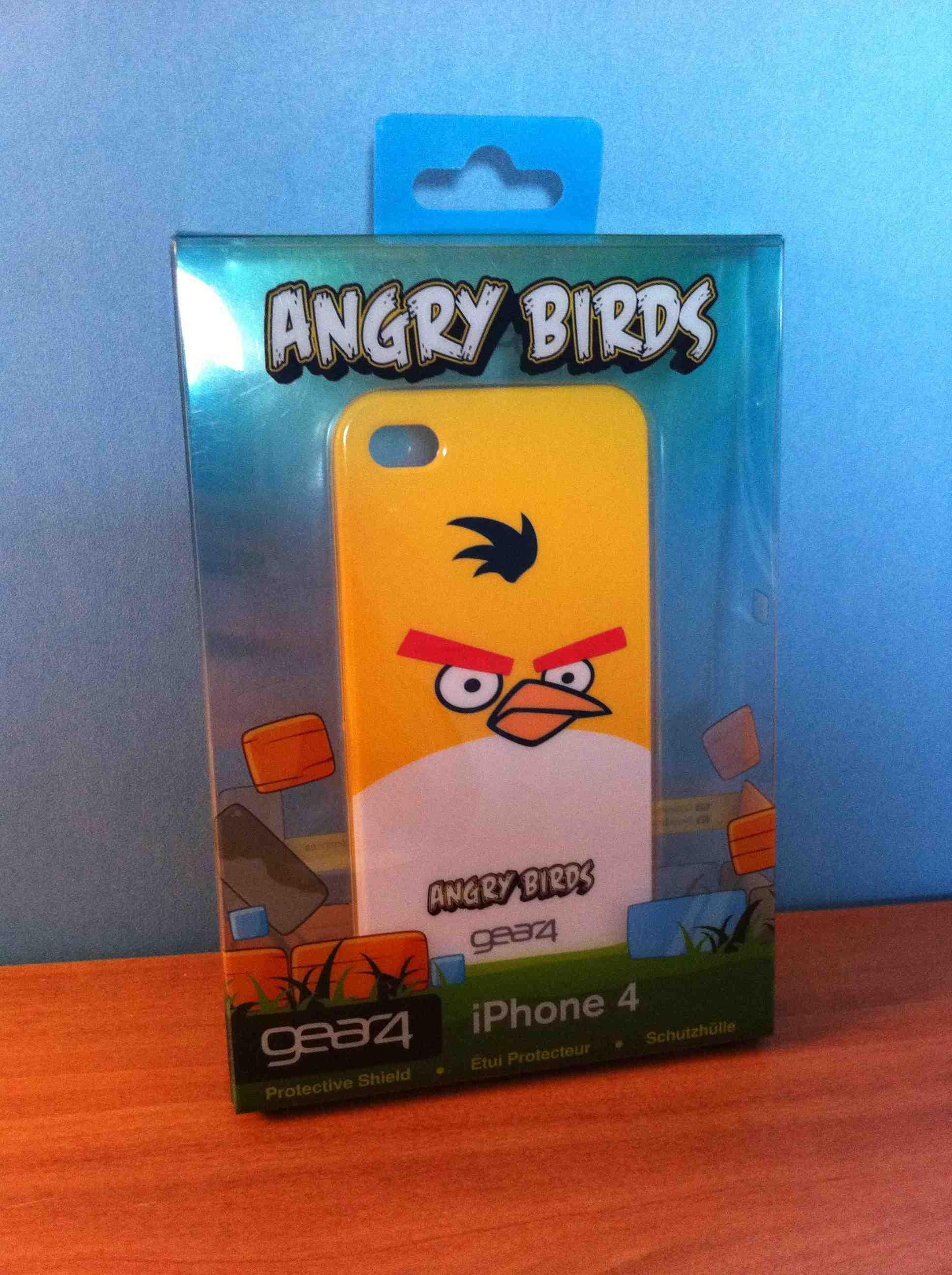 Test : coque Angry Birds et code réduction de -40%