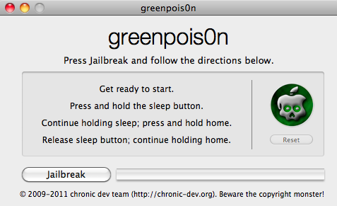 gp - [GreenPois0n RC6] Jailbreak iOS 4.2.1 Untethered iPhone 4, iPad et iPod Touch