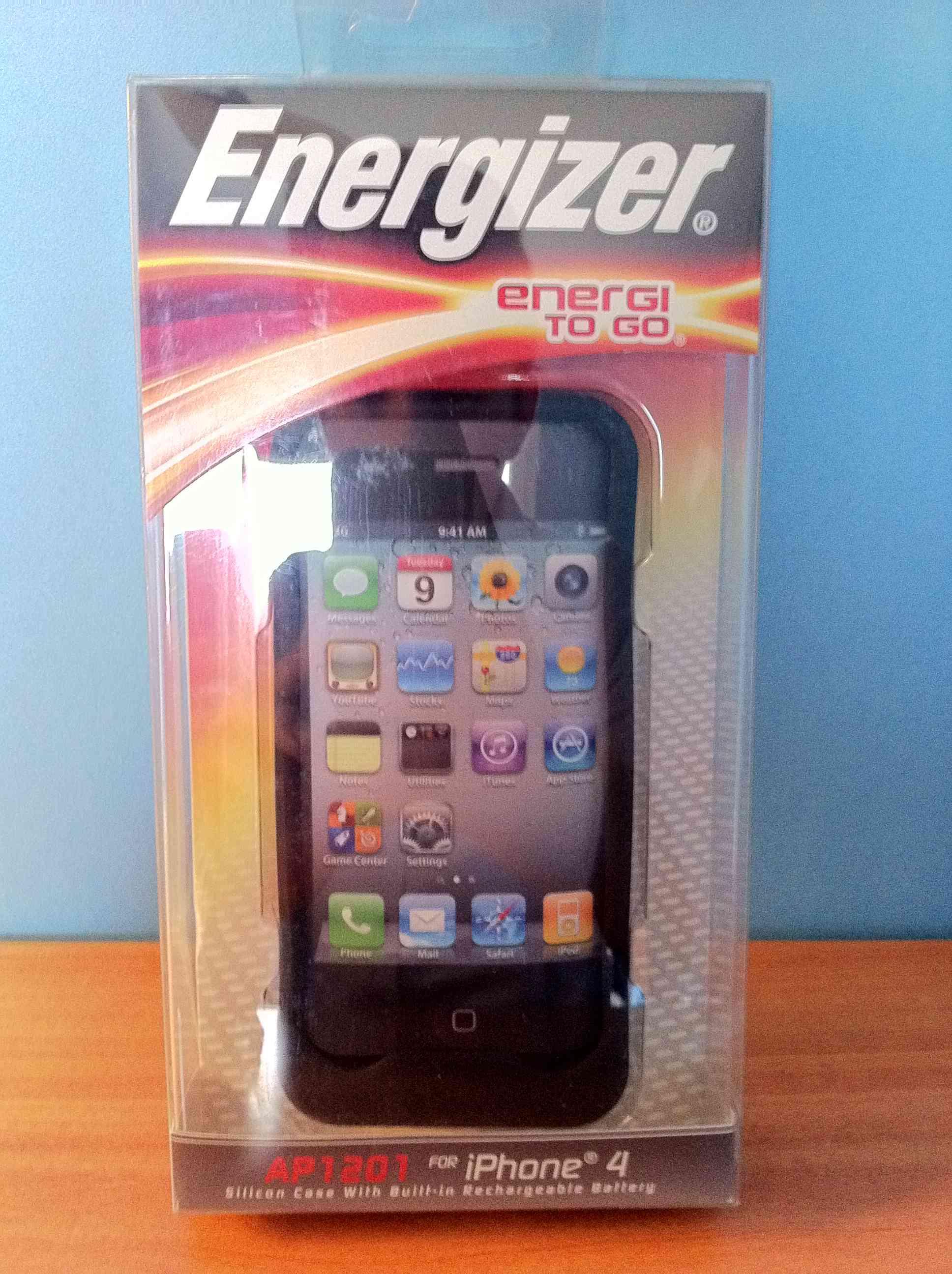 photo 14 - Test : Coque Batterie Energizer pour iPhone 4