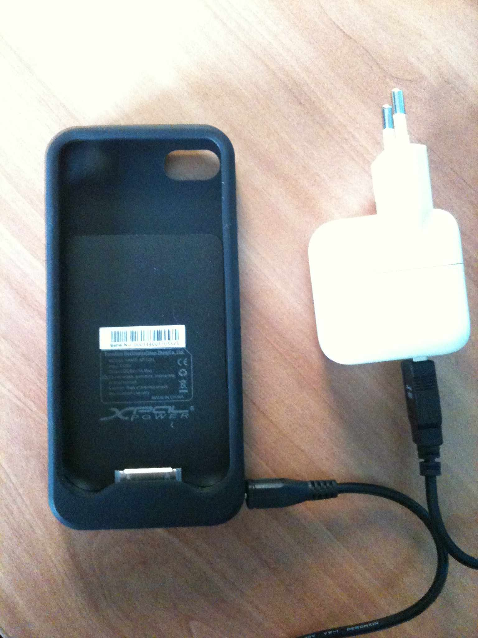 Test : Coque Batterie Energizer pour iPhone 4