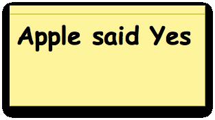 143145 appleyes - Ma femme a dit non, Apple a dit oui!