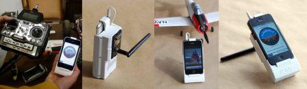 iPhly : contrôle d'appareils radiocommandés grâce à un iPhone