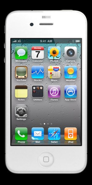 iPhone Blanc : Photo officielle