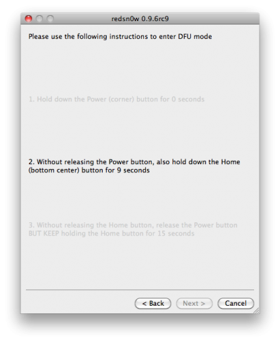 50125 500 - Jailbreak iPhone 4 [TUTO MAC]