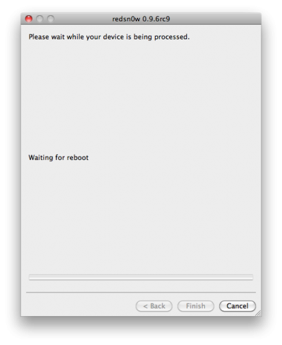 50129 500 - Tutoriel : jailbreak iOS 4.3.2 untethered avec redsn0w Mac