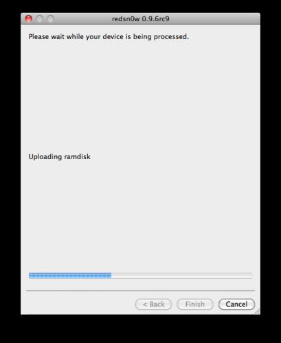 50130 500 - Tutoriel : jailbreak iOS 4.3.2 untethered avec redsn0w Mac